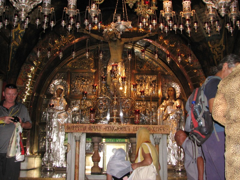 Christian pilgrims in Jerusalem, Israel, 2011, photo 13