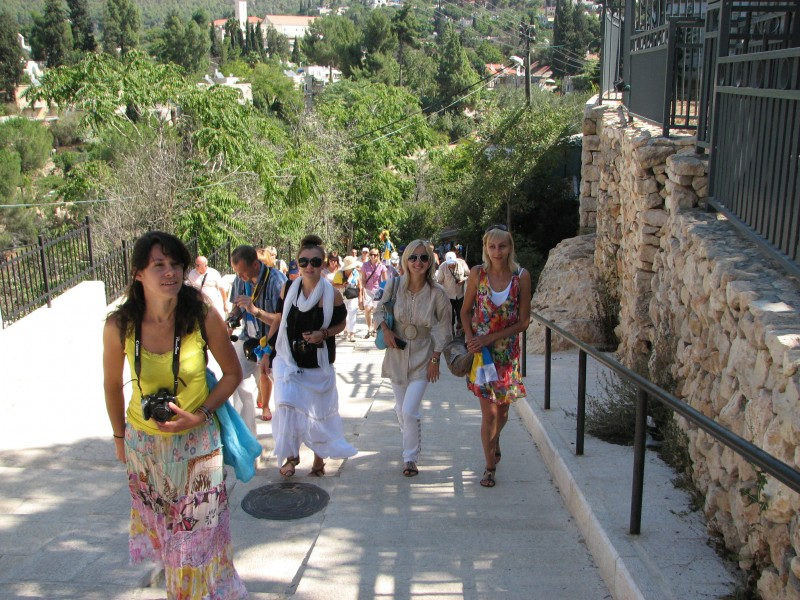 Christian pilgrims in Jerusalem, Israel, 2011, photo 9