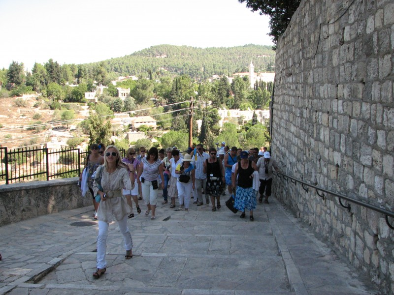 Christian pilgrims in Jerusalem, Israel, 2011, photo 8