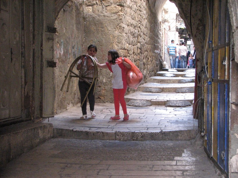 Children in Jerusalem, Israel, 2011, photo 5