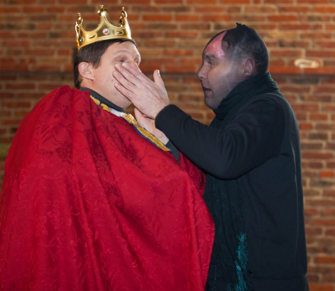king Herod and the Evil One in December 2013