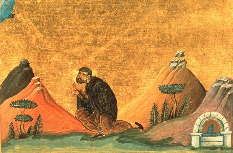 Nicholas the Confessor, Abbot of the Studion (Menologion of Basil II)