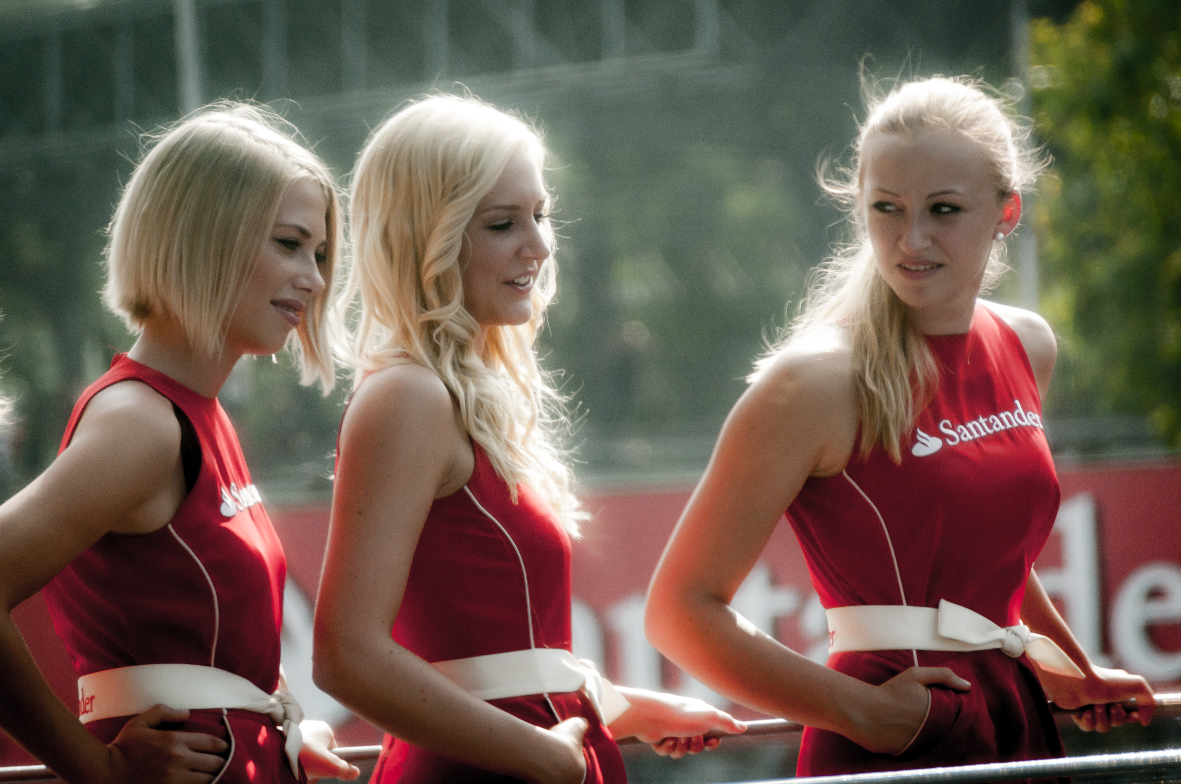 2012 Italian GP - F1 girls