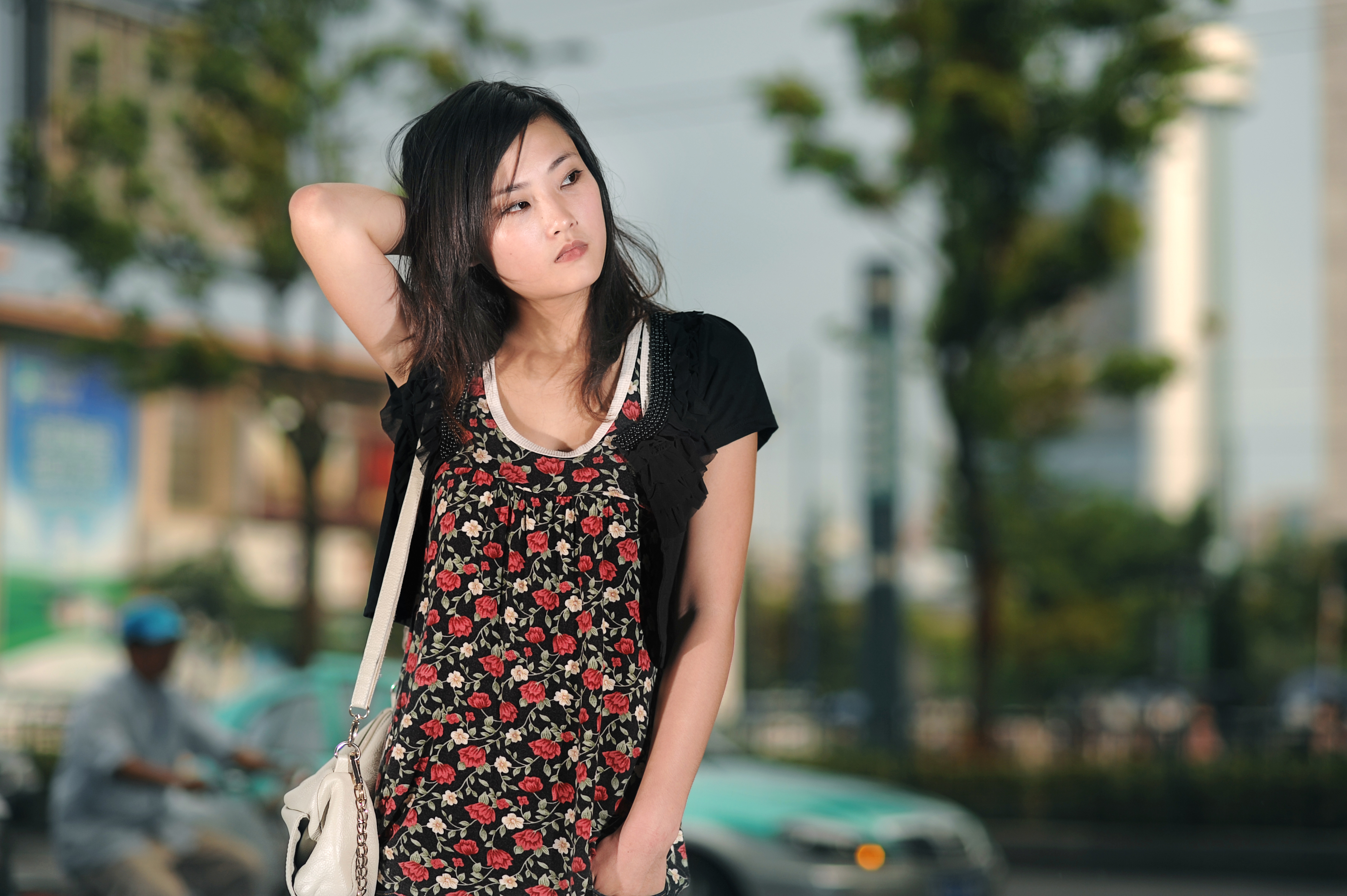 a young beautiful asian woman