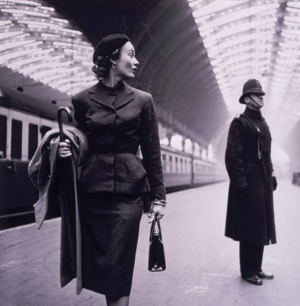 Paddington Station by Toni Frissell 1951