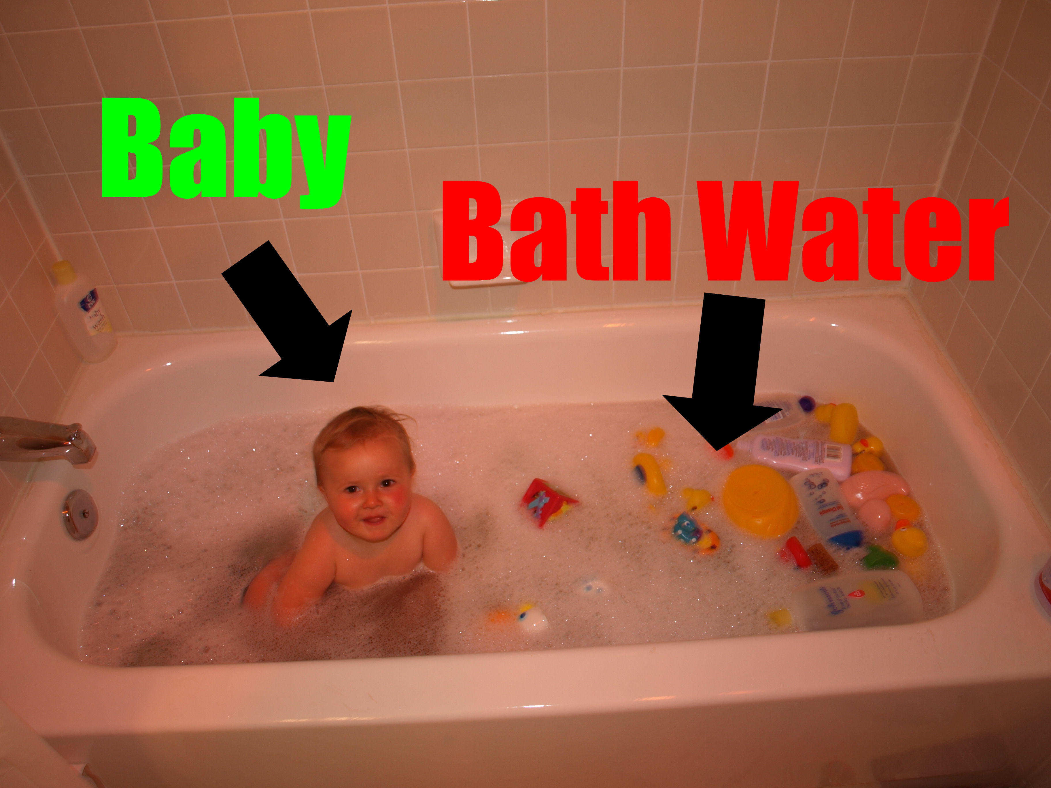 Baby vs. Bathwater Annotated