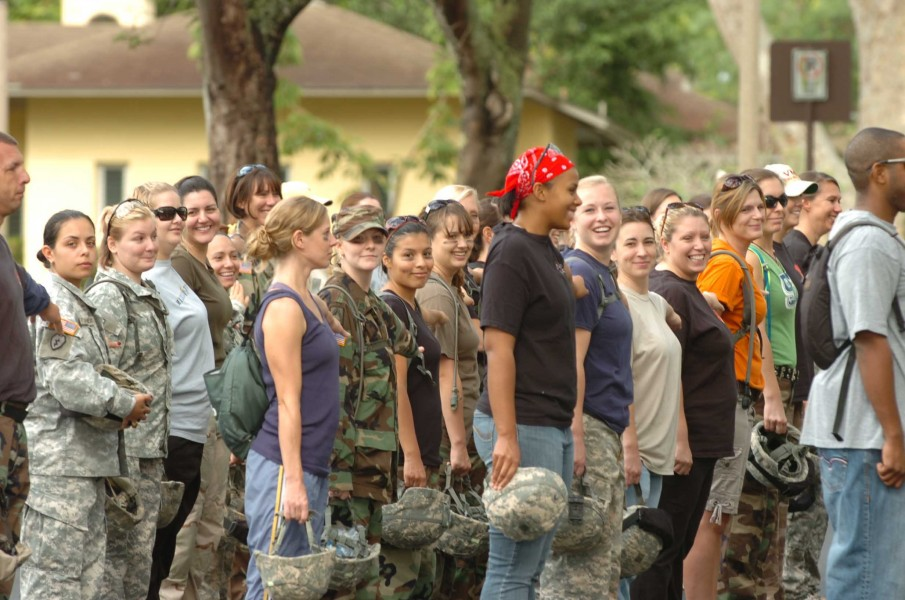 Flickr - The U.S. Army - Trooper's spouses earn their spurs (1)