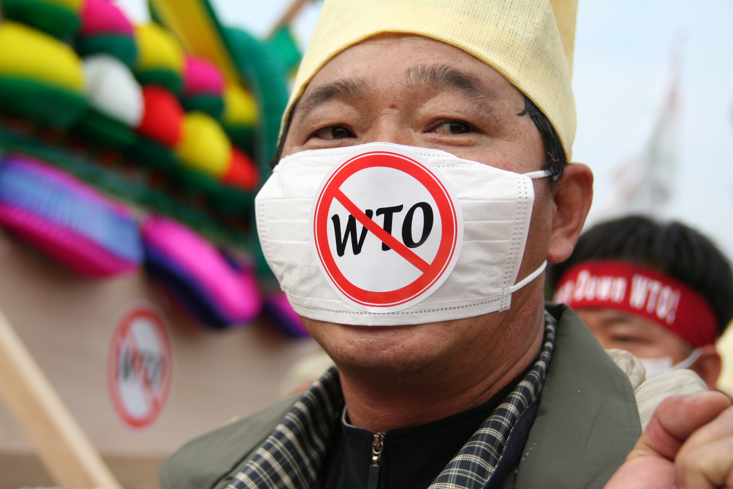 Chinese no to wto