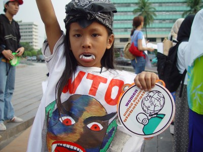 Jakarta WTO protest1