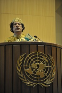 Muammar al-Gaddafi, 12th AU Summit, 090202-N-0506A-534