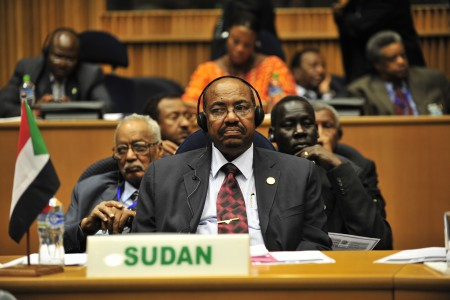 Omar al-Bashir, 12th AU Summit, 090131-N-0506A-347