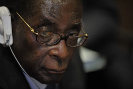 Robert Mugabe, 12th AU Summit, 090202-N-0506A-259