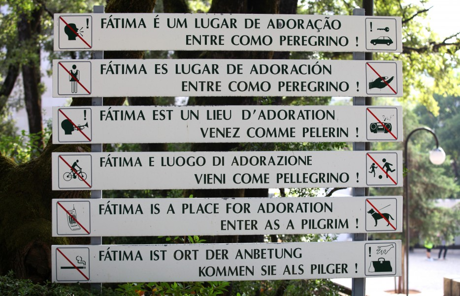 Fatima sanctuary, Portugal, Europe, August 2013, picture 8