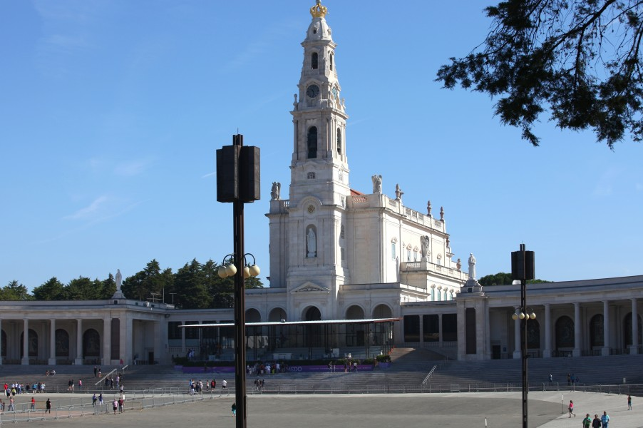 Fatima church, Portugal, Europe, August 2013, picture 13