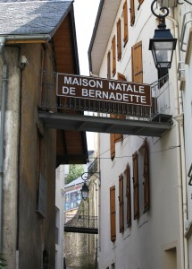 the birthplace of Bernadette (maison natale de Bernadette) in Lourdes, France, Europe, August 2013, picture 17
