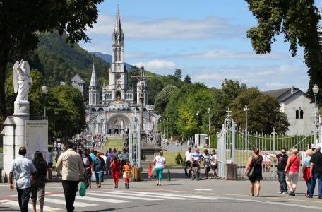 Lourdes, France, Europe, August 2013, picture 18