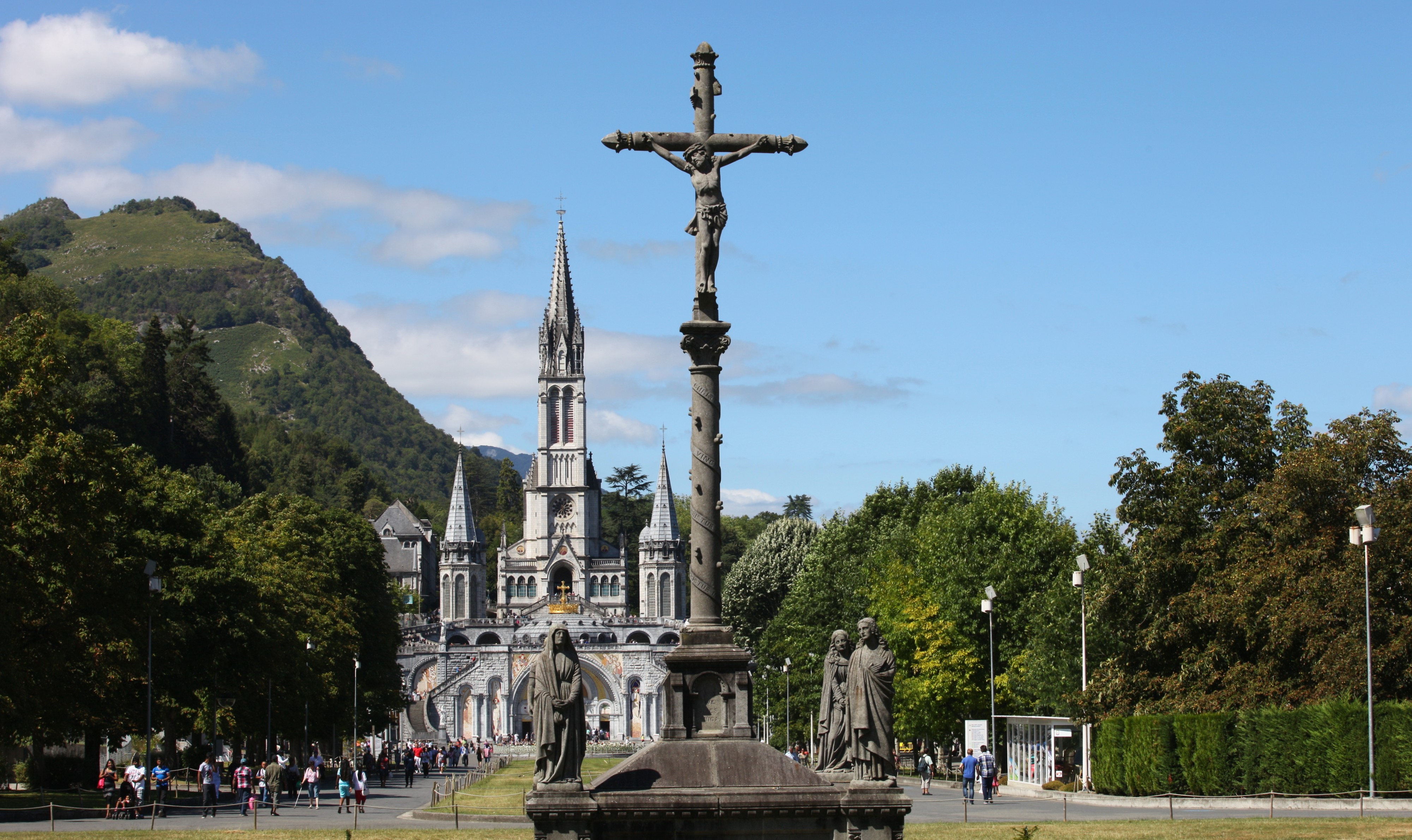 Lourdes, France, Europe, August 2013, picture 16