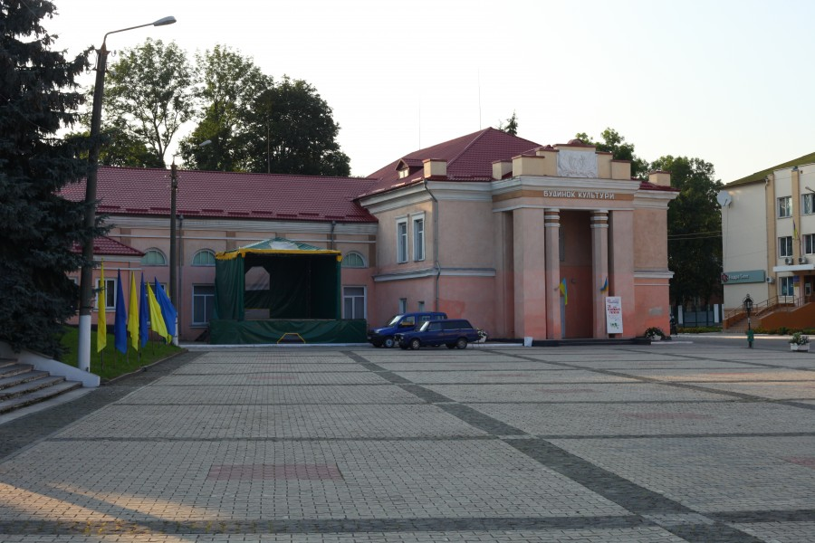 Ostroh town center, photo 2