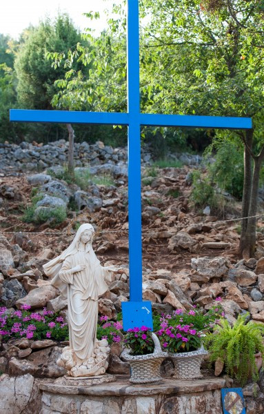 one of the apparitions places in Medjugorje, Bosnia, July 2014, picture 10