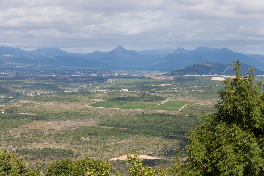 a view from a mountain in Medjugorje, Bosnia, July 2014, picture 19