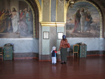 Pochayiv Lavra inside - Orthodox Church Monastery - Ternopil Region, picture 3