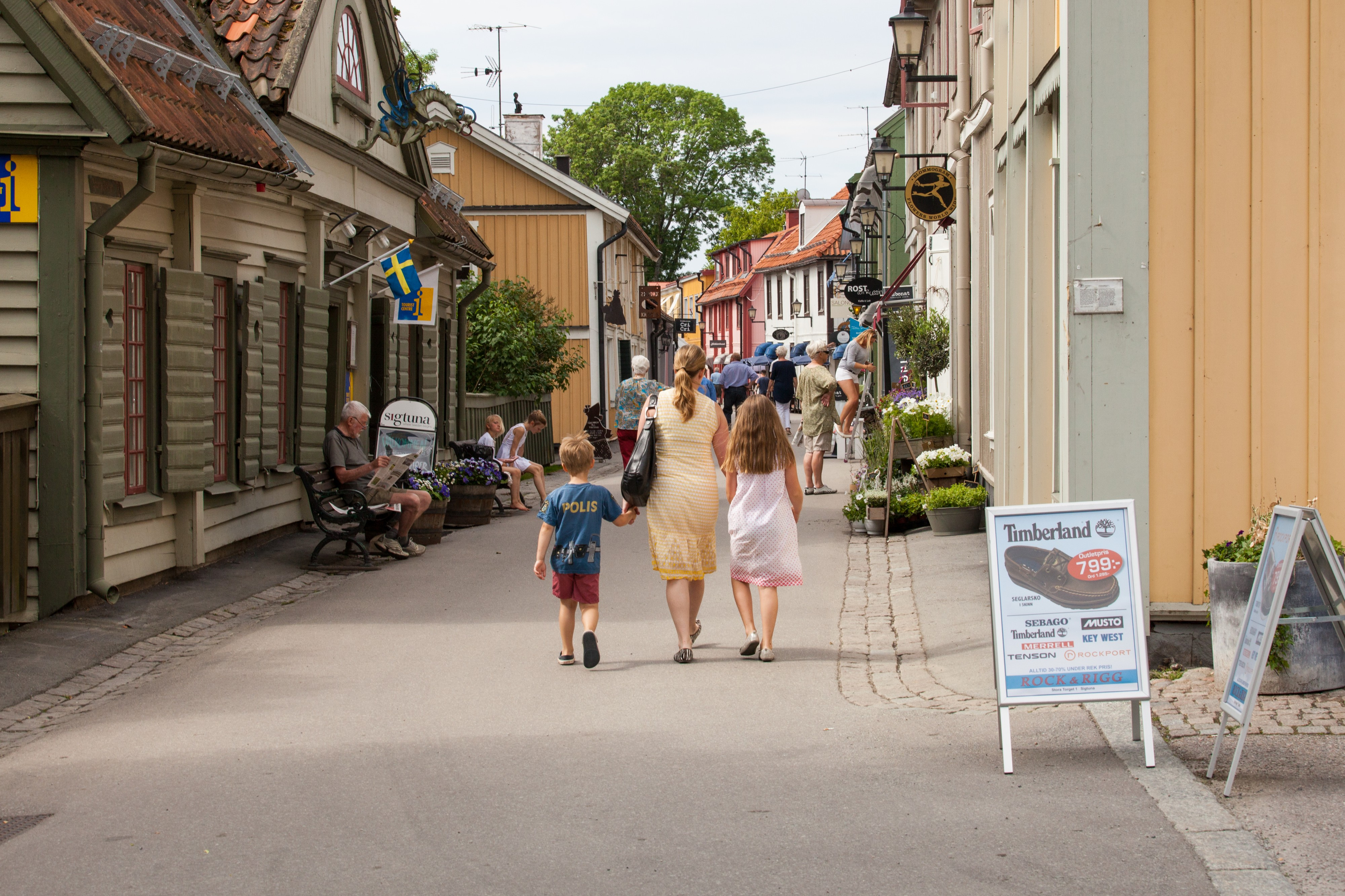 Sigtuna town, Sweden, June 2014, picture 3