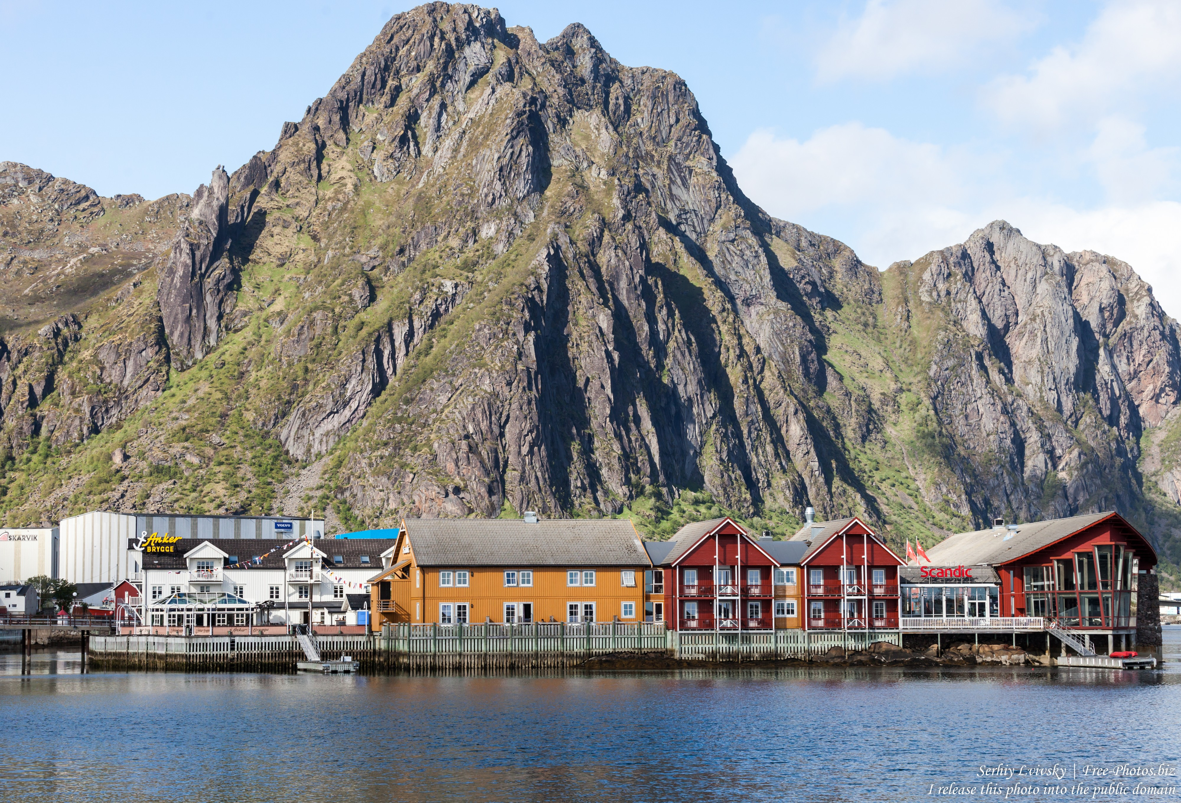 Svolvaer, Lofoten, Norway photographed in June 2018 by Serhiy Lvivsky, picture 8