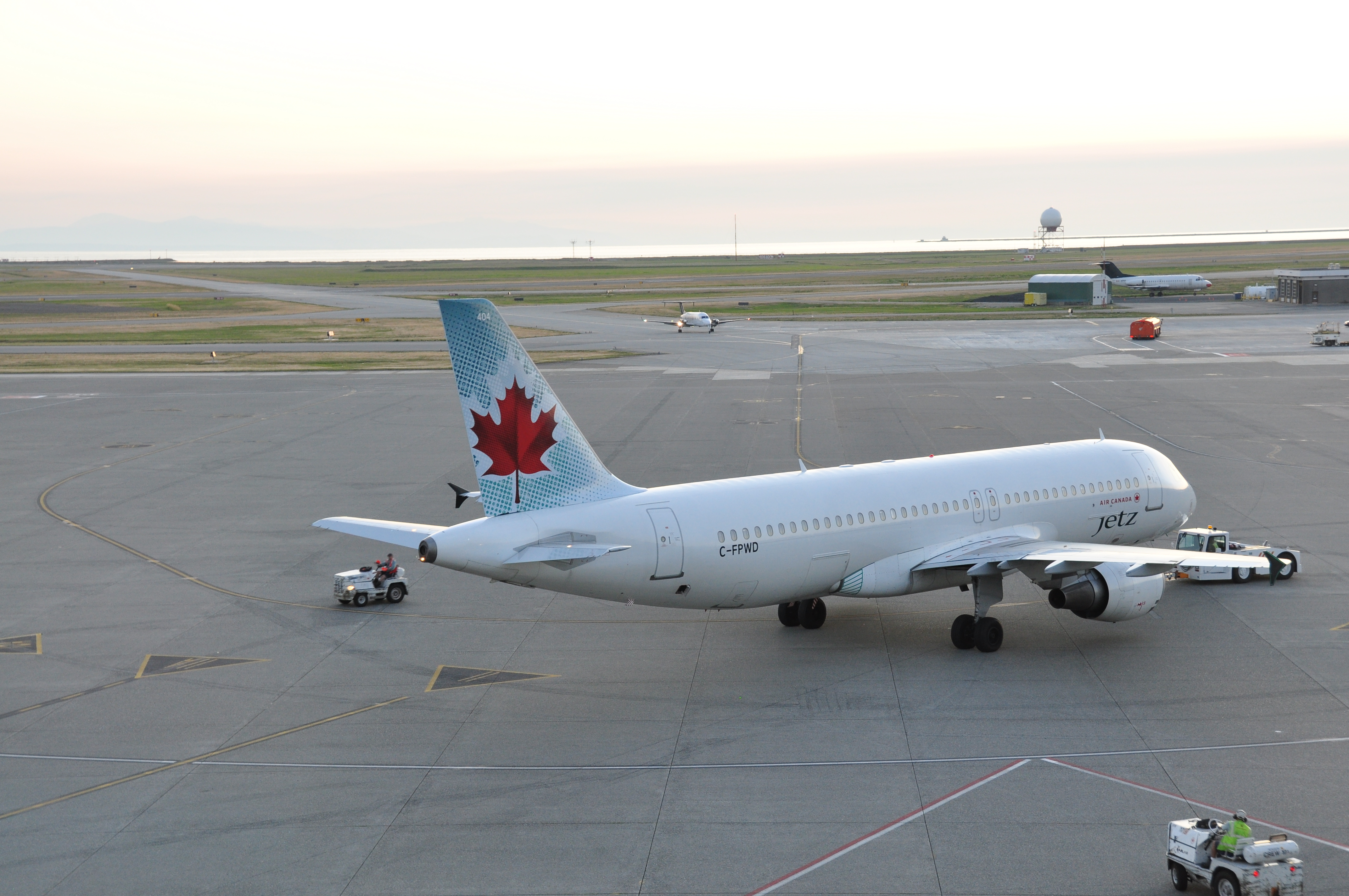 Air Canada Jetz C-FPWD