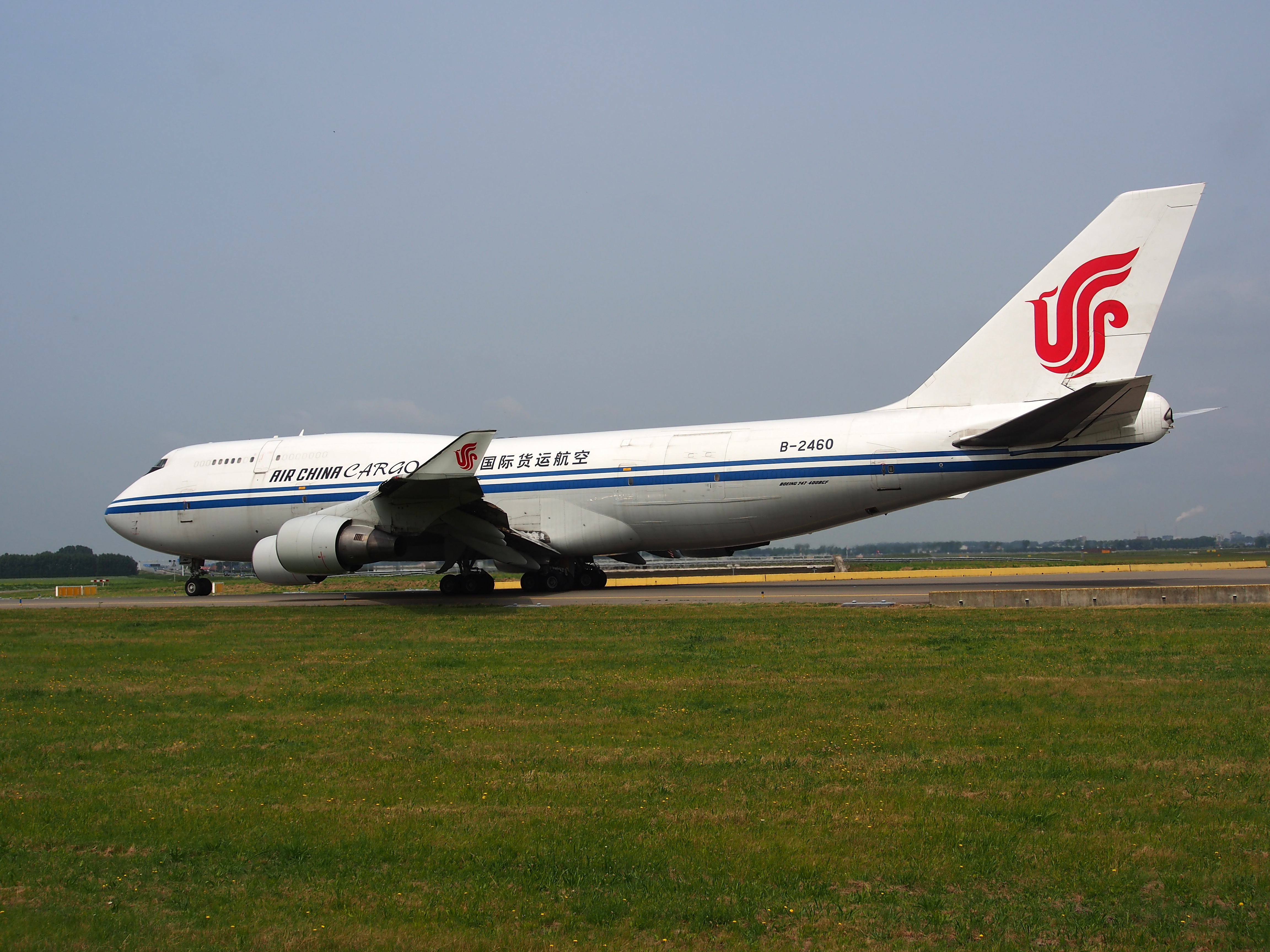 B-2460 Air China Cargo Boeing 747-4J6(BCF) - cn 24348 taxiing 14july2013 pic-014