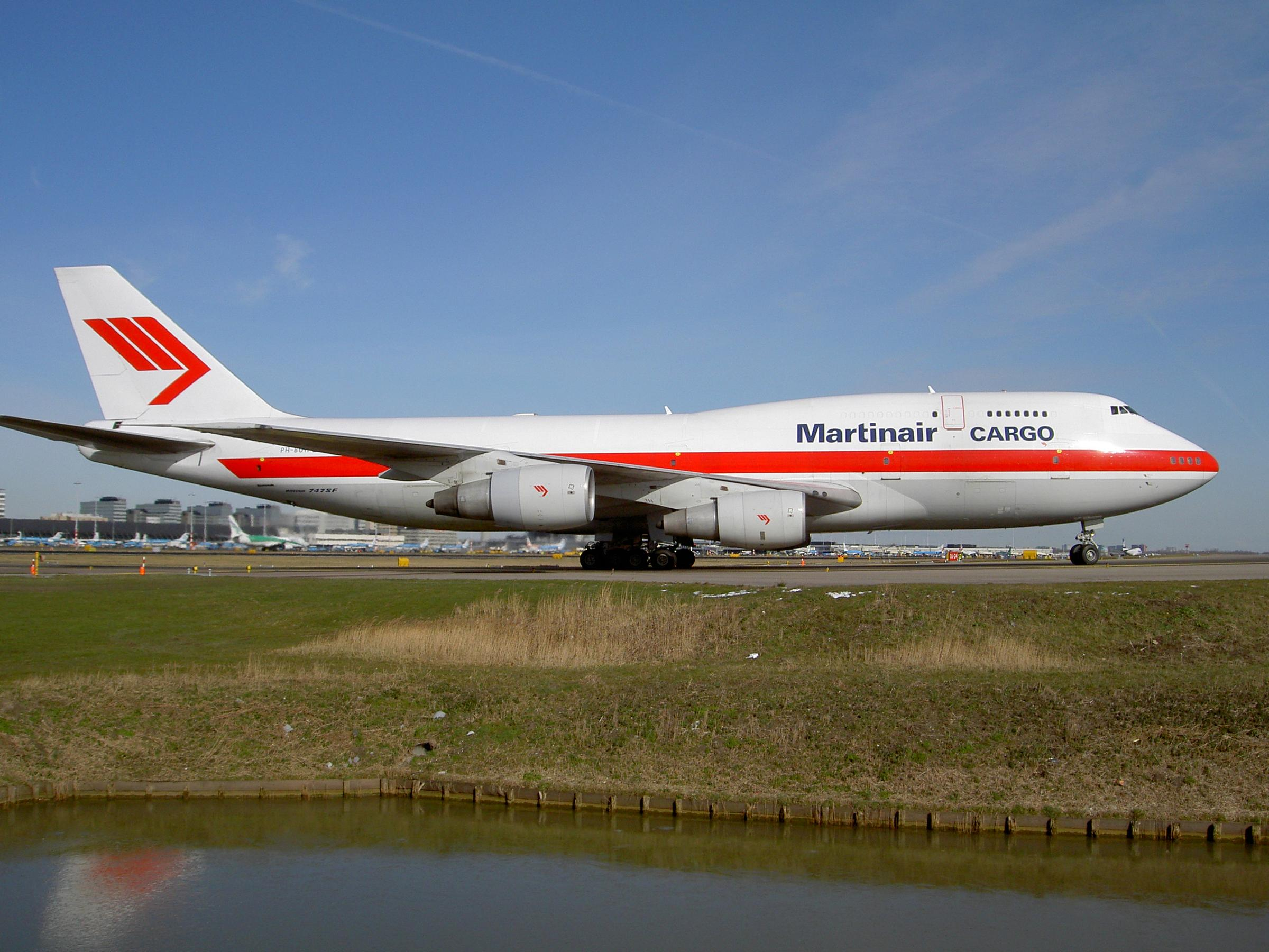 Boeing 747SF Martinair Cargo PH-BUW at Schiphol