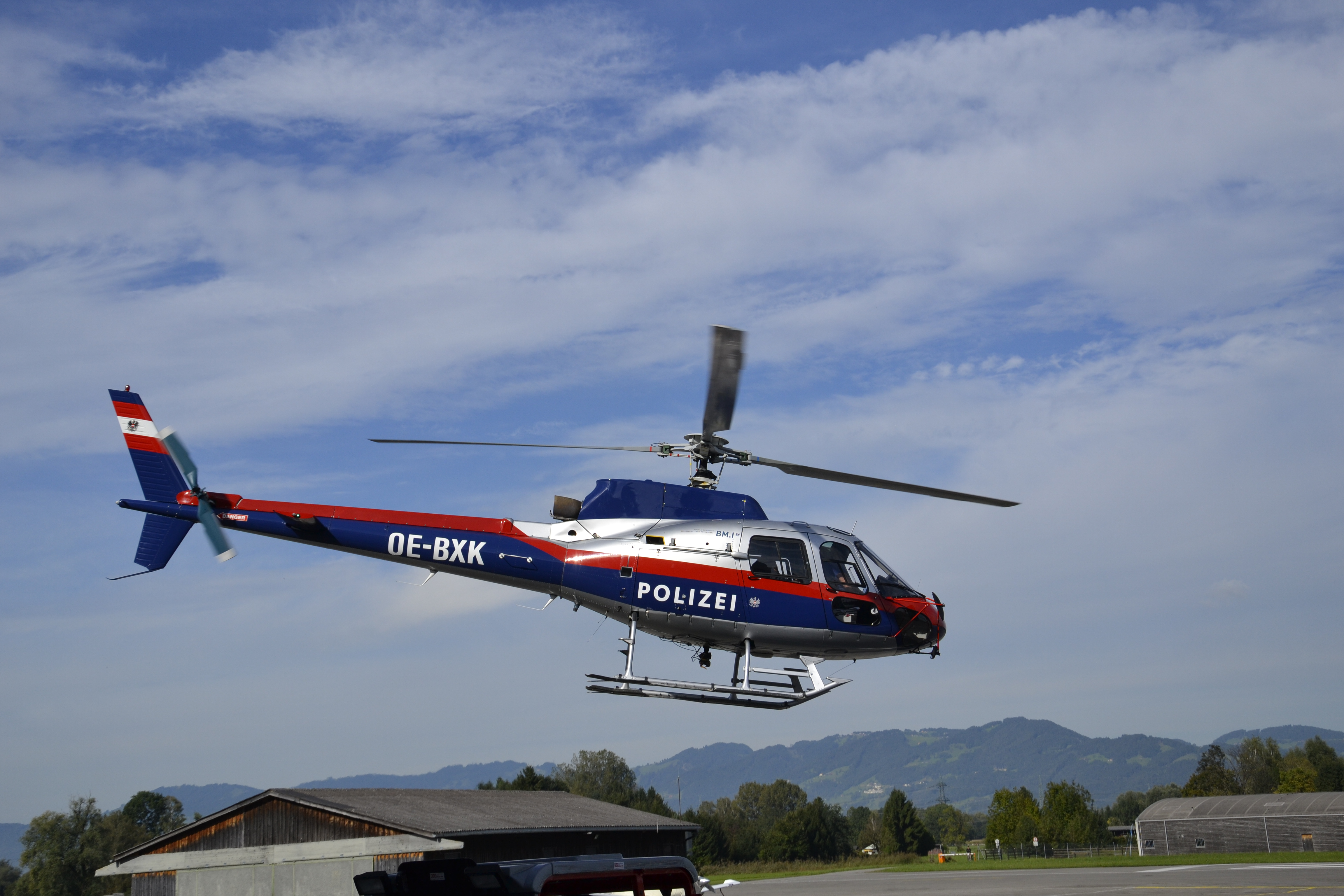 Helicopter of the Austrian Federal police