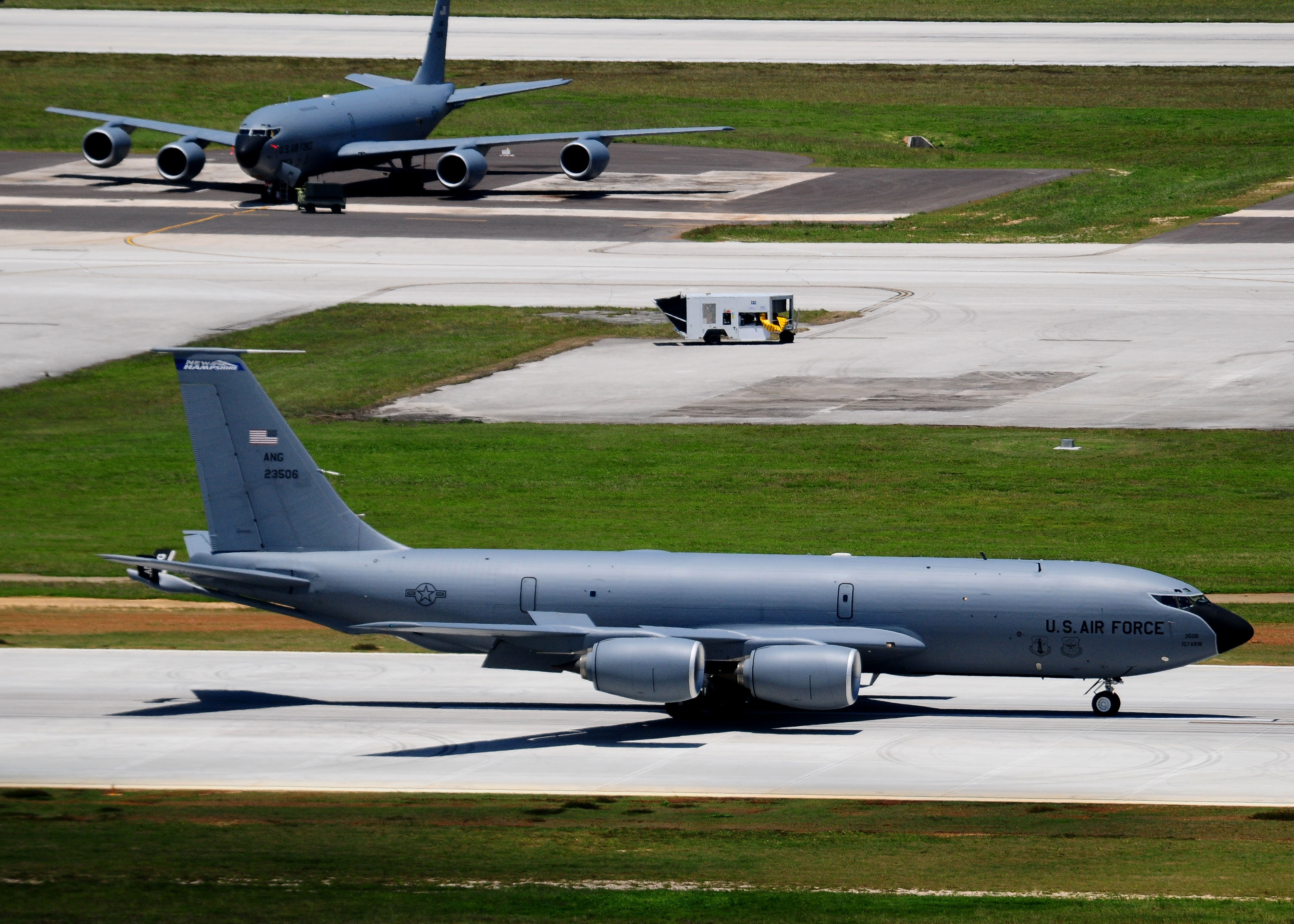 KC-135R 157th ARW at Andersen AFB 2010