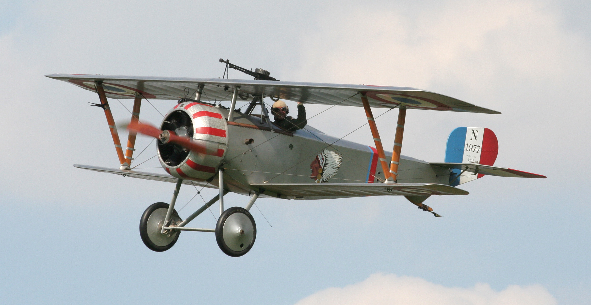 Nieuport 17 at Festival of History 07