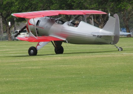 2003 Amateur Built Aircraft Culp Special at the SAAA Langley Park Fly-in October 2011 (1)