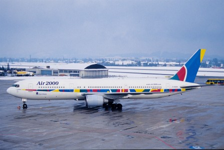 204aw - Air 2000 Boeing 767-300, G-OOAN@SZG,25.1.2003 - Flickr - Aero Icarus