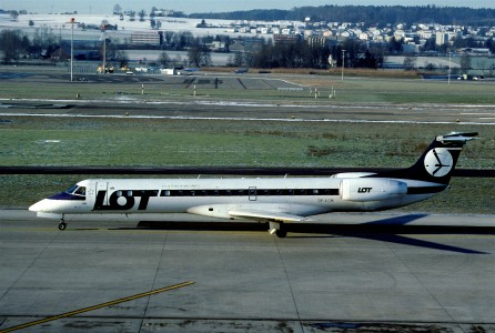 270aa - LOT Polish Airlines Embraer RJ145MP, SP-LGN@ZRH,24.12.2003 - Flickr - Aero Icarus