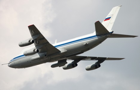 Airborne command and control aircraft IL-86VKP (3)