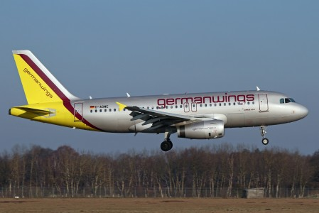 Airbus A319 Germanwings D-AGWE
