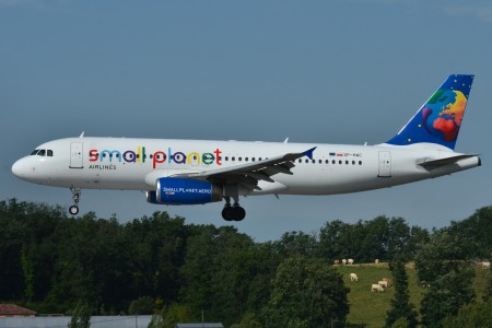 Airbus A320-200 Small Planet Airlines (Poland) (LLP) SP-HAC - MSN 739 (9645957043)