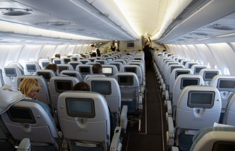 Airbus A330-300 inside