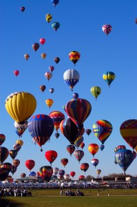 Balloon Fiesta of Albuquerque, New Mexico, USA