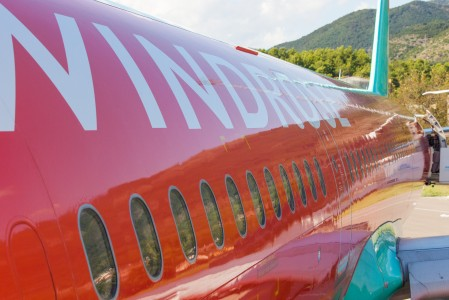 a Windrose airplane photographed in Tivat, Montenegro in August 2014, picture 10