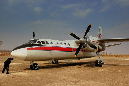 ANTONOV AN24 OF AIR KORYO P537 AT SONDOK HAMHUNG AIRPORT DPR KOREA OCT 2012 (8179493502)