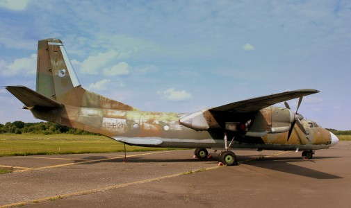 ANTONOV AN26 52+09 AT THE LUFTWAFFEN MUSEUM RAF GATOW BERLIN GERMANY JUNE 2013 (9126148964)