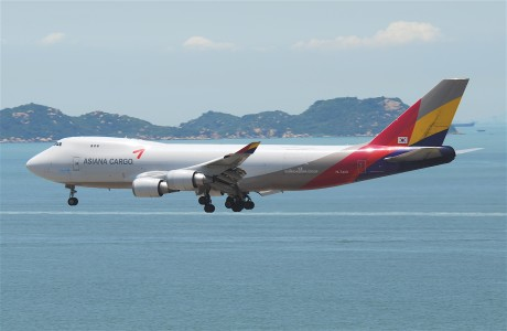 Asiana Airlines Cargo Boeing 747-400F; HL7420@HKG;04.08.2011 615po (6207441425)