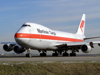 Boeing 747 Martinair Cargo PH-MCN at Schiphol pic1