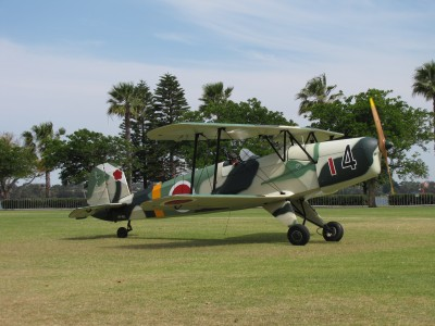 CASA 1-131E Jungmann at the SAAA Langley Park Fly-in October 2011 (1)