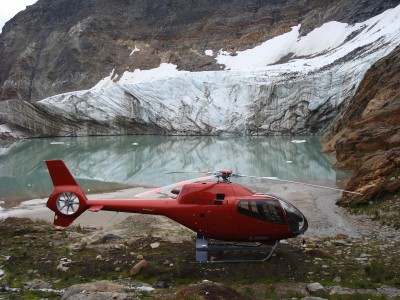 EC120 Glacier Background