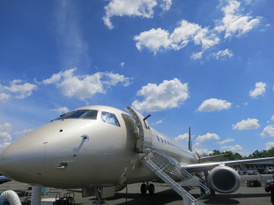 Embraer Lineage 1000 exterior