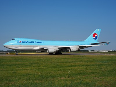 HL7605 Korean Air Lines Boeing 747-4B5F(ER) - cn 35526, taxiing 21july2013 pic-006